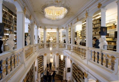 Wiedereröffnung Anna Amalia Bibliothek in Weimar